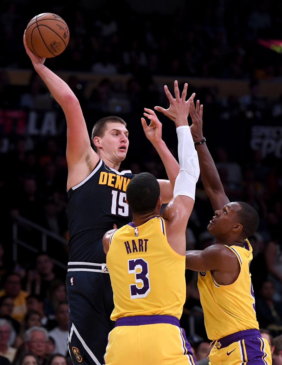 Nikola Jokic will be the fulcrum of the Nuggets' offense.