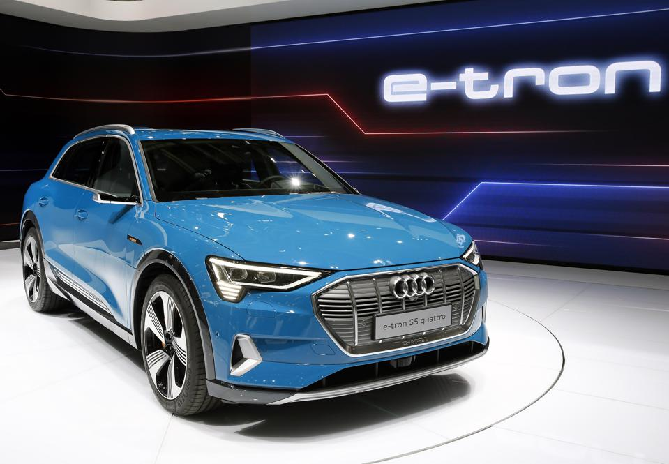 The Audi e-tron SUV should start shipping this spring.