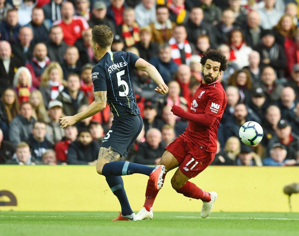Liverpool FC versus Manchester City - Premier League