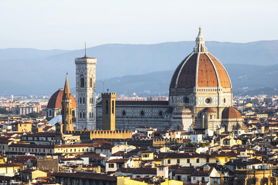 City panorama view, Florence, Italy