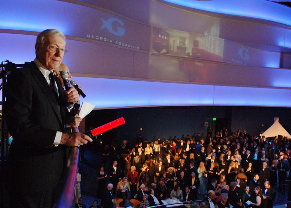 Bernie Marcus donated $250 million to the Georgia Aquarium.