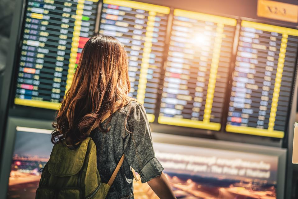 Airport arrival and departure board. Do you know your airline rights?