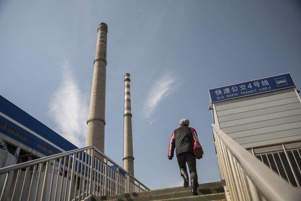 Smoke Stack in Beijing