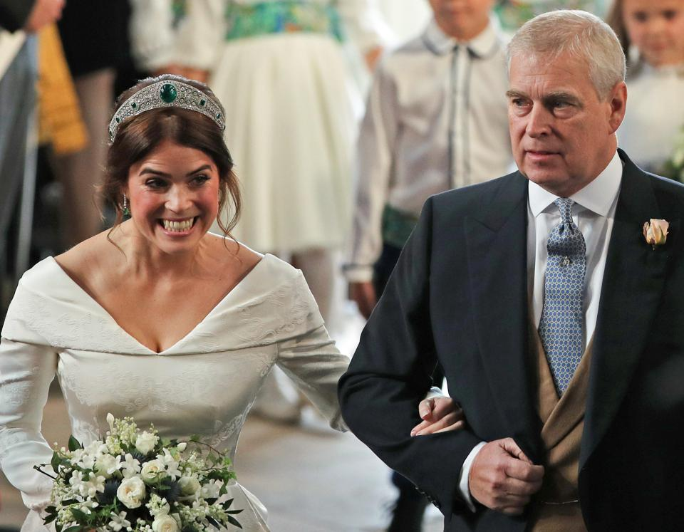 TOPSHOT-BRITAIN-ROYALS-WEDDING-EUGENIE