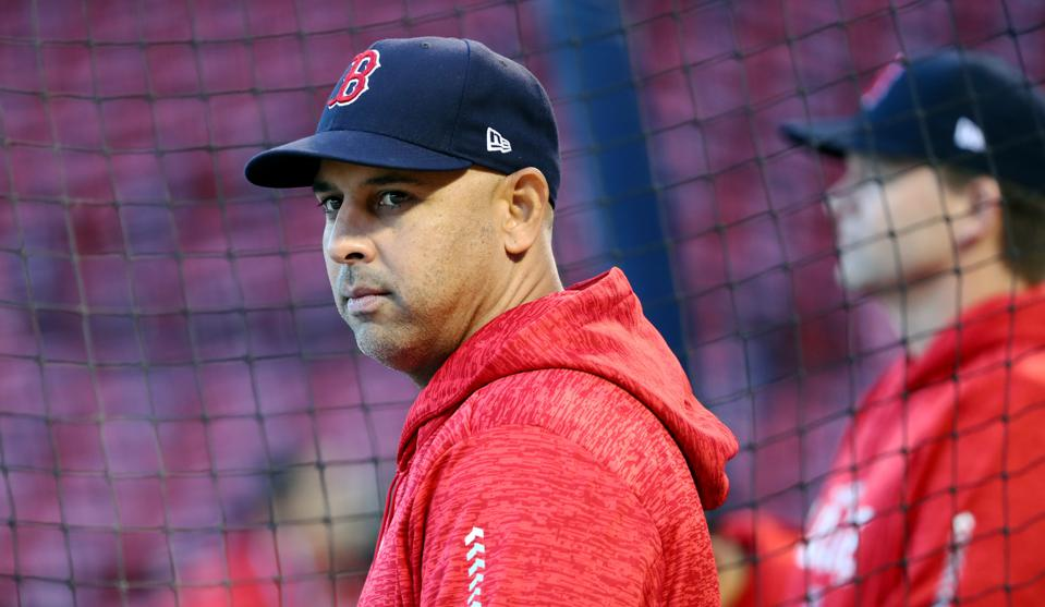 Alex Cora - Houston Astros sign-stealing scandal.