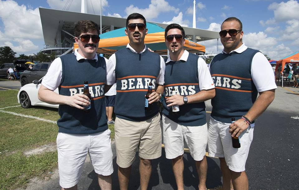 Miami Dolphins against the Chicago Bears 10/14/2018