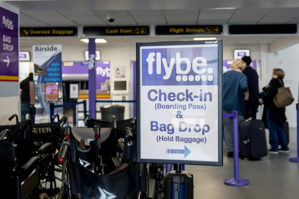 Flybe Regional Airline Issues A Profit Warning