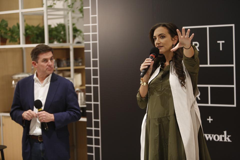 WeWork x Rent the Runway Partnership Launch Event