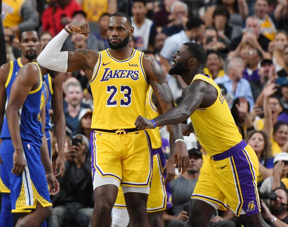 With LeBron James, the Lakers are the talk of the NBA.