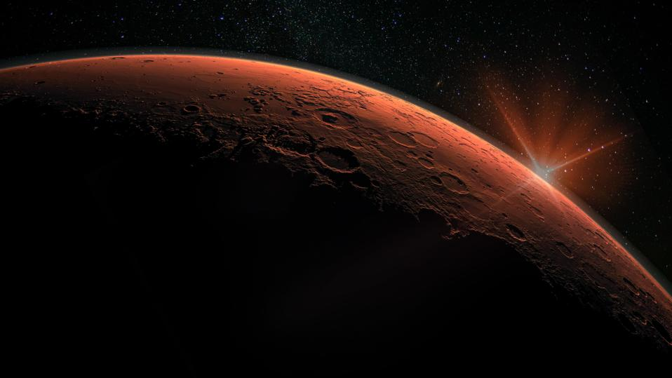 Happy New Mars Year! Today is equinox on Mars, and the beginning of a new ″year 36″ on Mars.