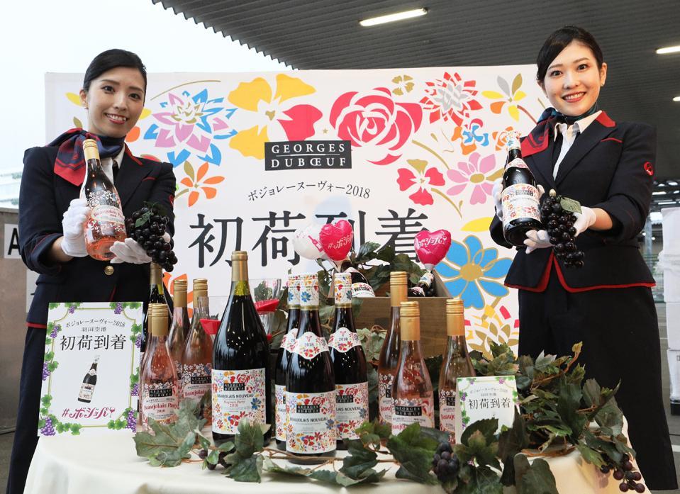 JAPAN-FRANCE-WINE-BEAUJOLAIS