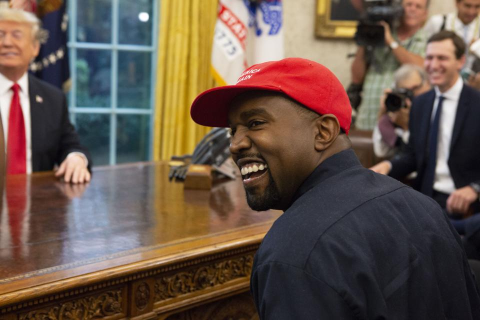Kanye West Sticks By Trump: 'We Know Who I'm Voting On'