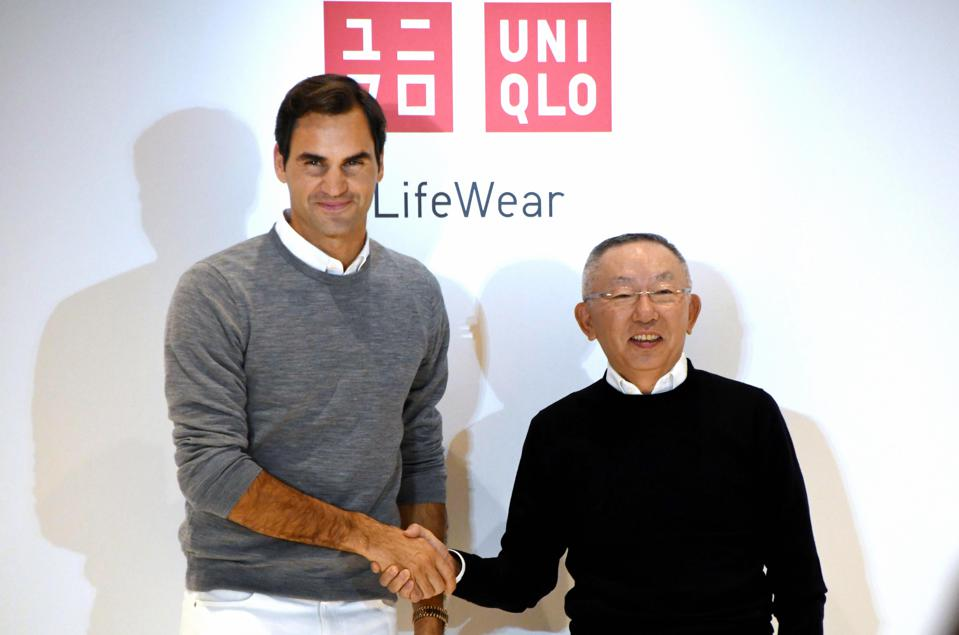 Roger Federer And Uniqlo Press Conference