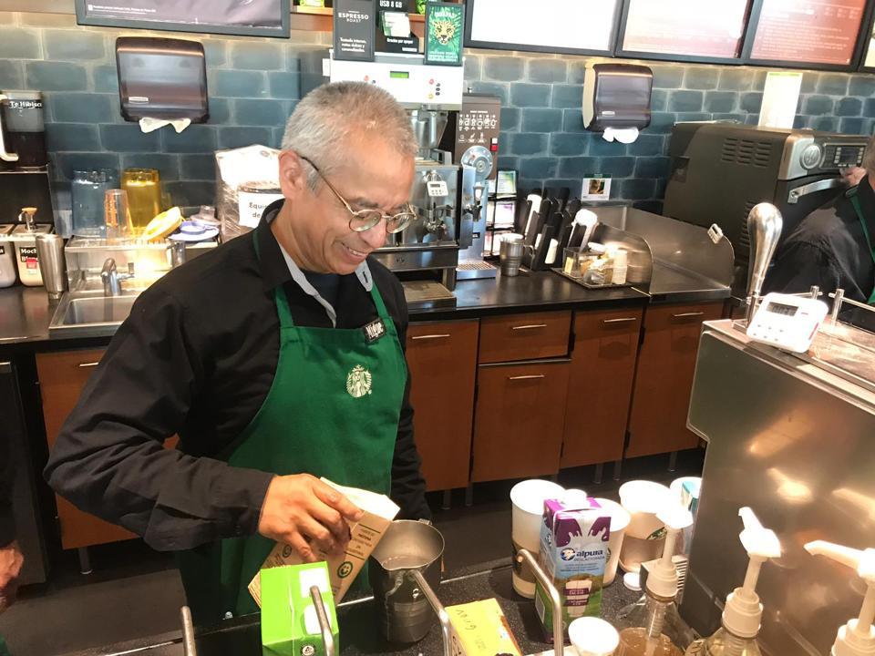 Senior's Starbucks
