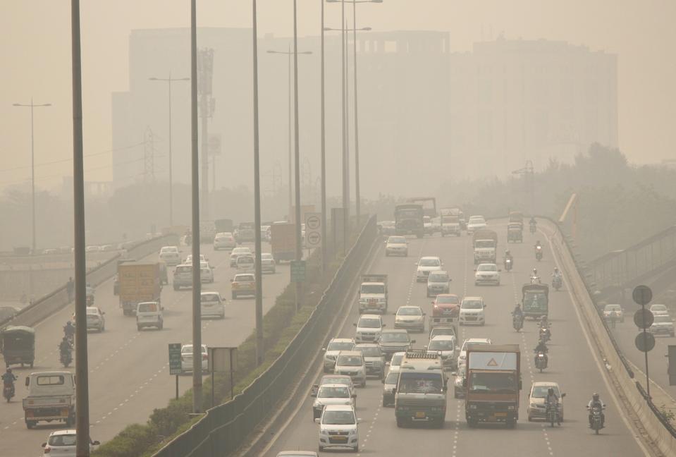 Severe Air Pollution In Delhi NCR