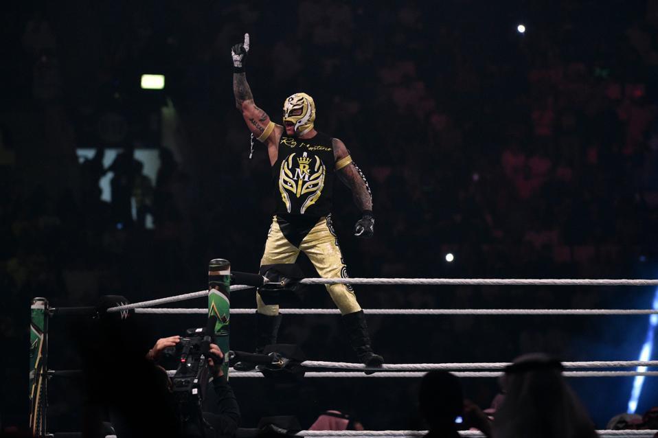 WWE star Rey Mysterio
