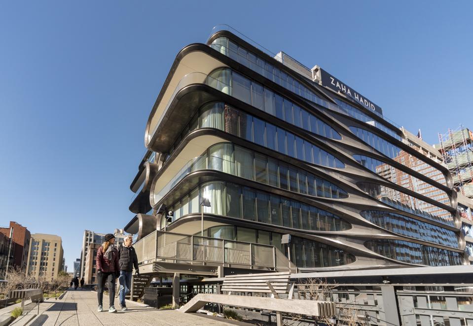 Zaha Hadid Building, High Line