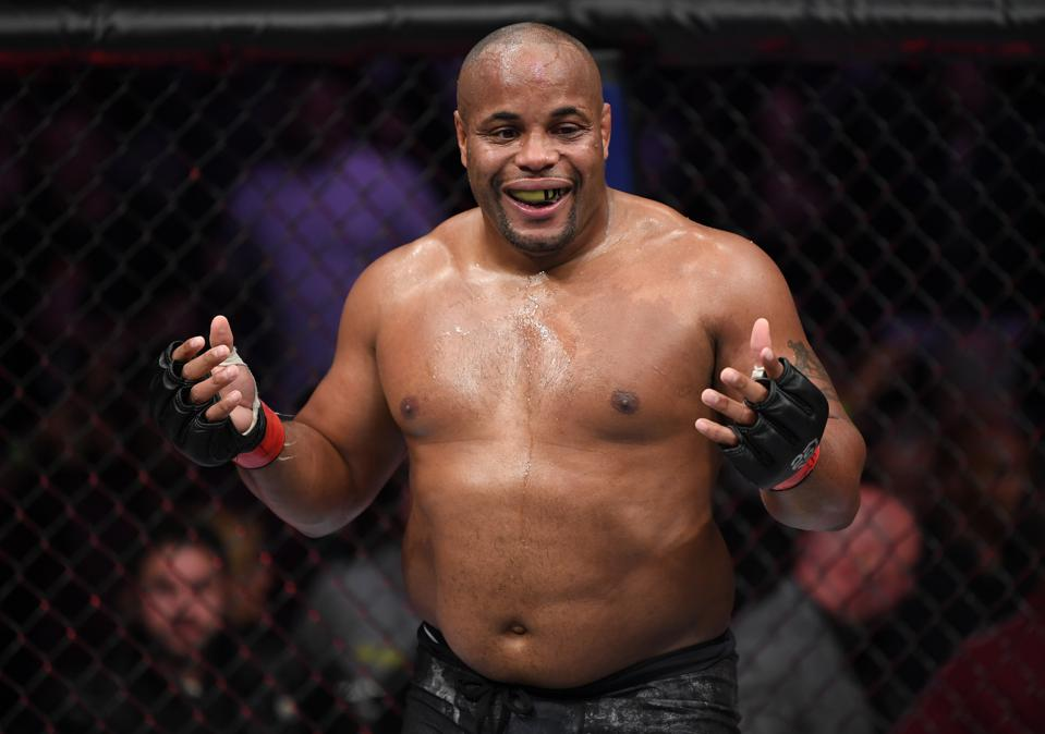 Daniel Cormier faces Stipe Miocic in the main event of Saturday's UFC 252 pay-per-view card