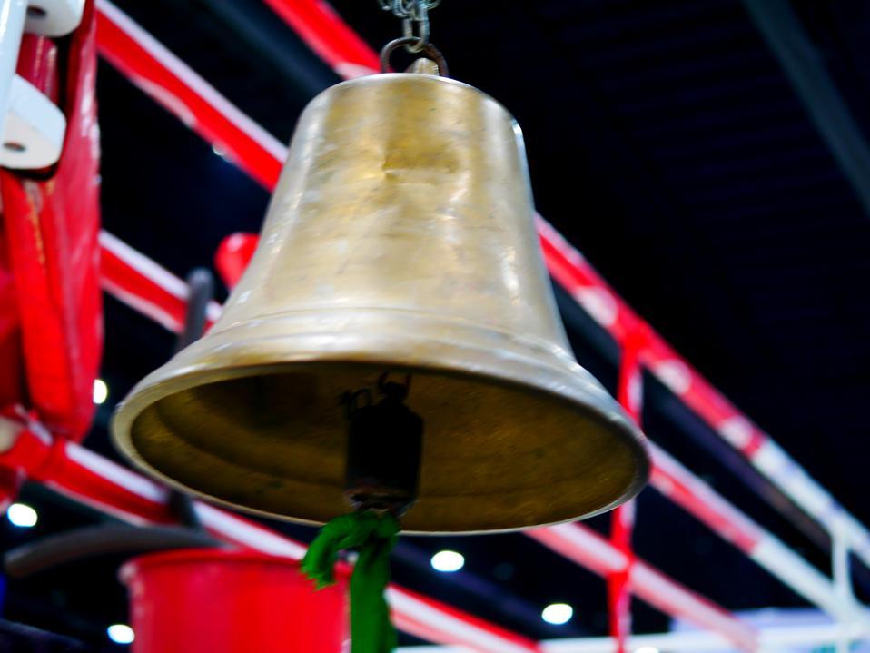 Brass Boxing Bell