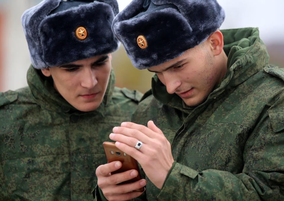 Chechen conscripts depart for military service