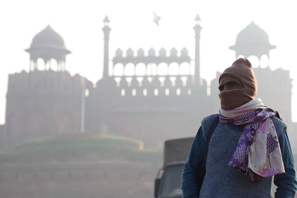 Delhi Covered In Thick Smog