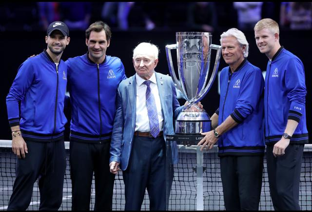 Roger Federer's Laver Cup Added As An Official ATP Tour Event