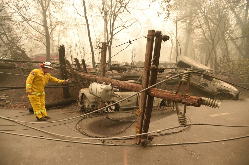 As $30B In Wildfire Claims Bankrupt PG&E, California Wonders