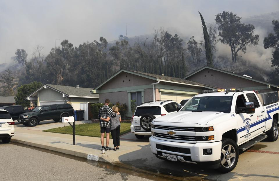 California vulnerable to wildfires