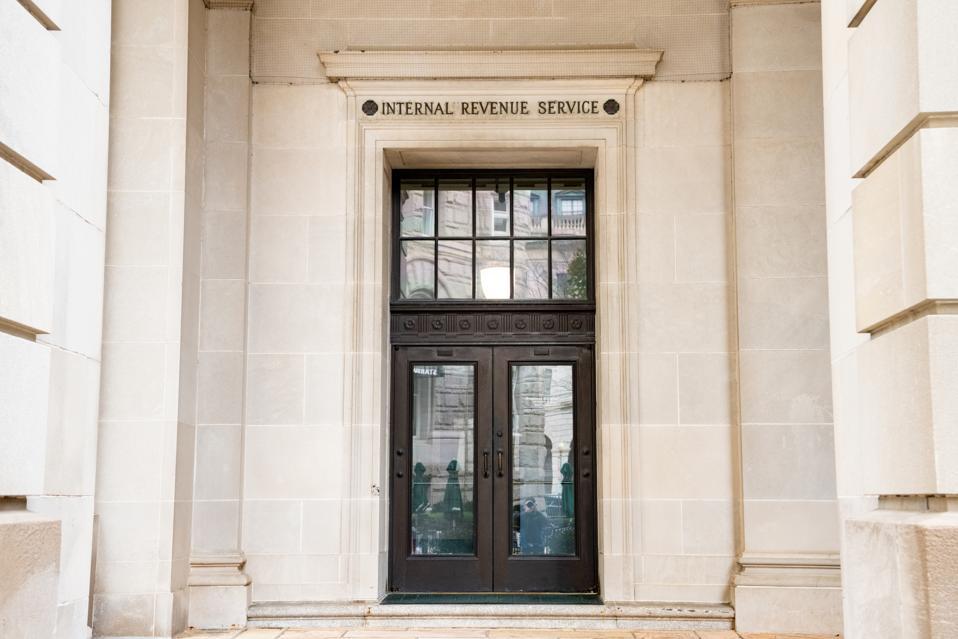 Internal Revenue Service building in Washington, D.C...