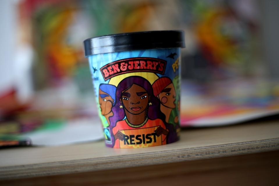 Oakland artist and organizer designed artwork for Ben & Jerry's new ″Pecan Resist″