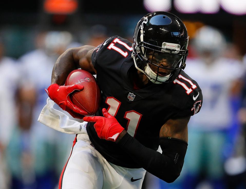 Jones Locked Falcons' Defenders 2 Next Priority With Julio Up Is