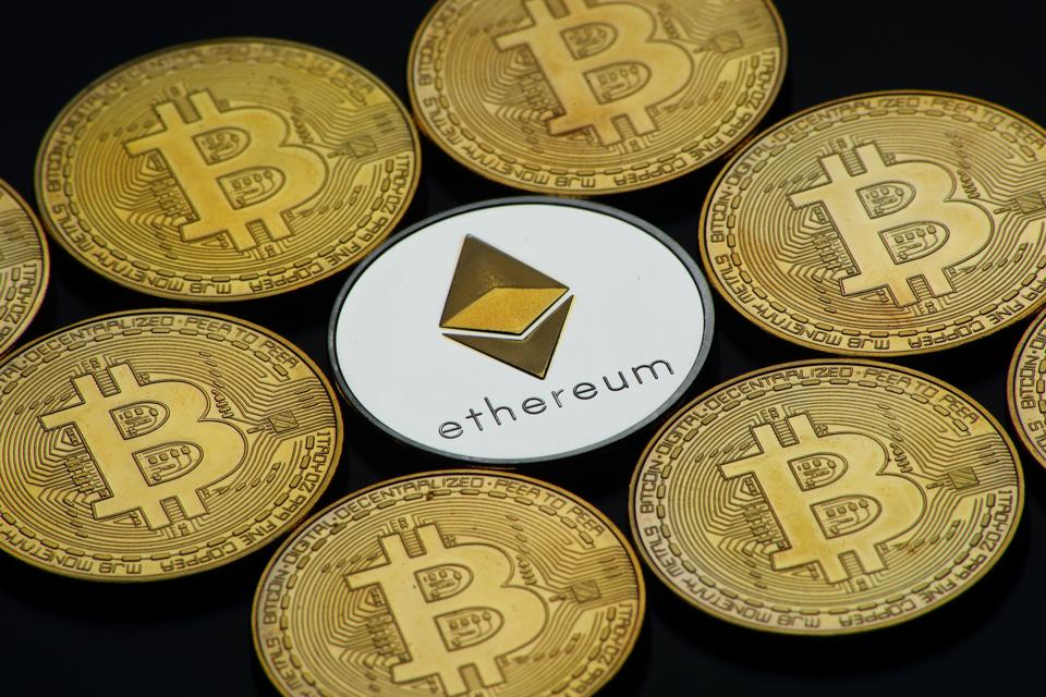 Bitcoin and Ether are digital assets competing for dominance as the reserve asset in the DeFi ecosystem.