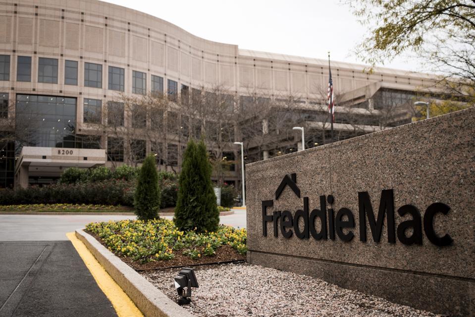 The offices of Freddie Mac in McLean, Virginia...