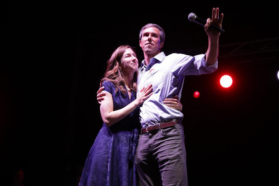Beto and Amy O'Rourke