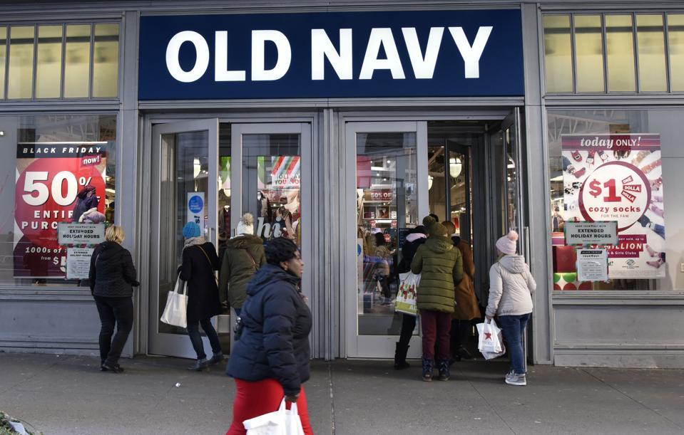 Old Navy Black Friday Shopping