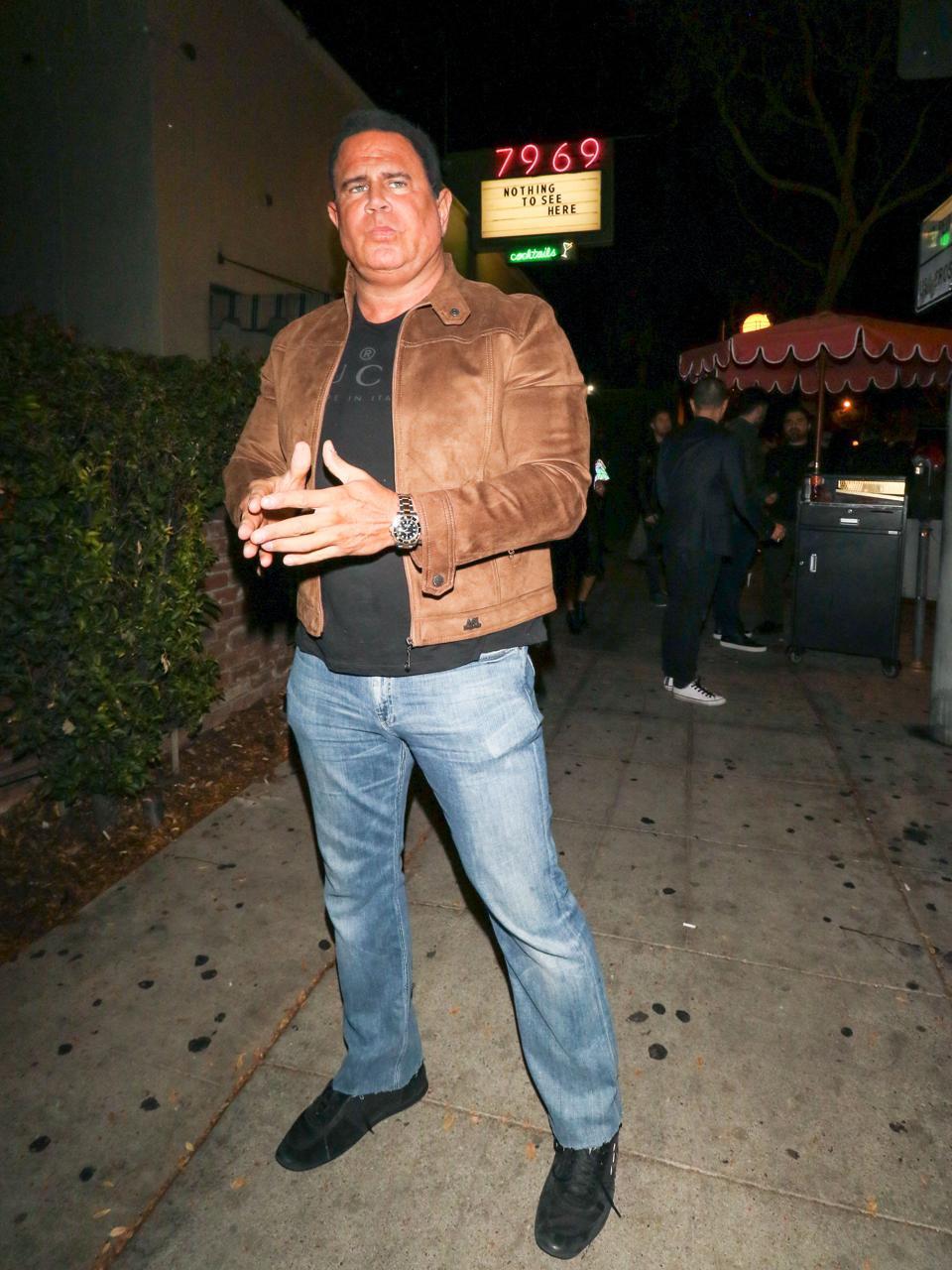 Celebrity Sightings In Los Angeles - November 24, 2018