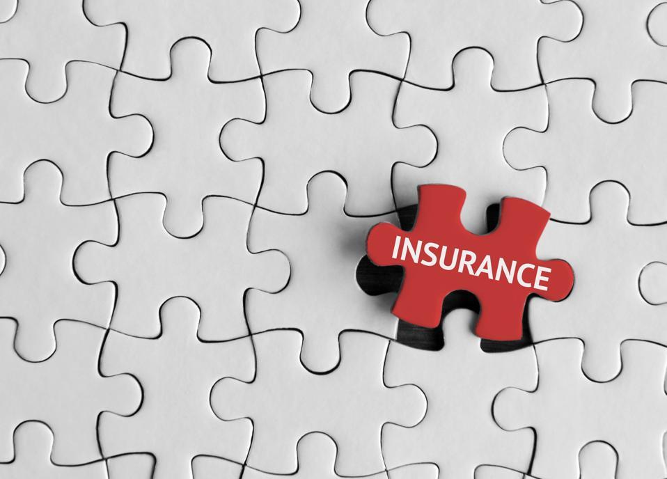 Insurance, Puzzle concept.