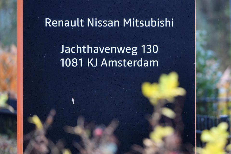 NETHERLANDS-AUTOMOBILE-RENAULT-NISSAN-MITSUBISHI
