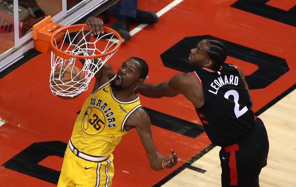 Toronto Raptors beat the Golden State Warriors 131-128 in overtime