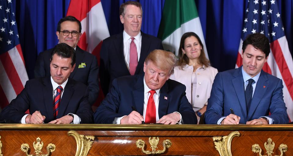 TOPSHOT-ARGENTINA-G20-SUMMIT-US-CANADA-MEXICO-USMCA