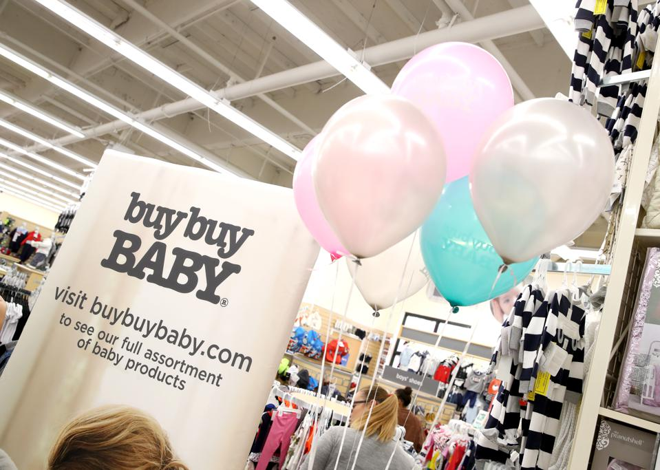A scene at a Buybuy Baby store in Torrance, CA during a launch of a new product line.