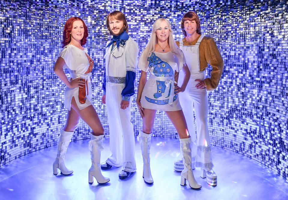 Abba figures at Madame Tussauds