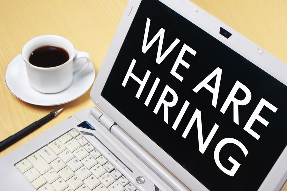 We Are Hiring, Motivational Business Recruitment Words Quotes Concept