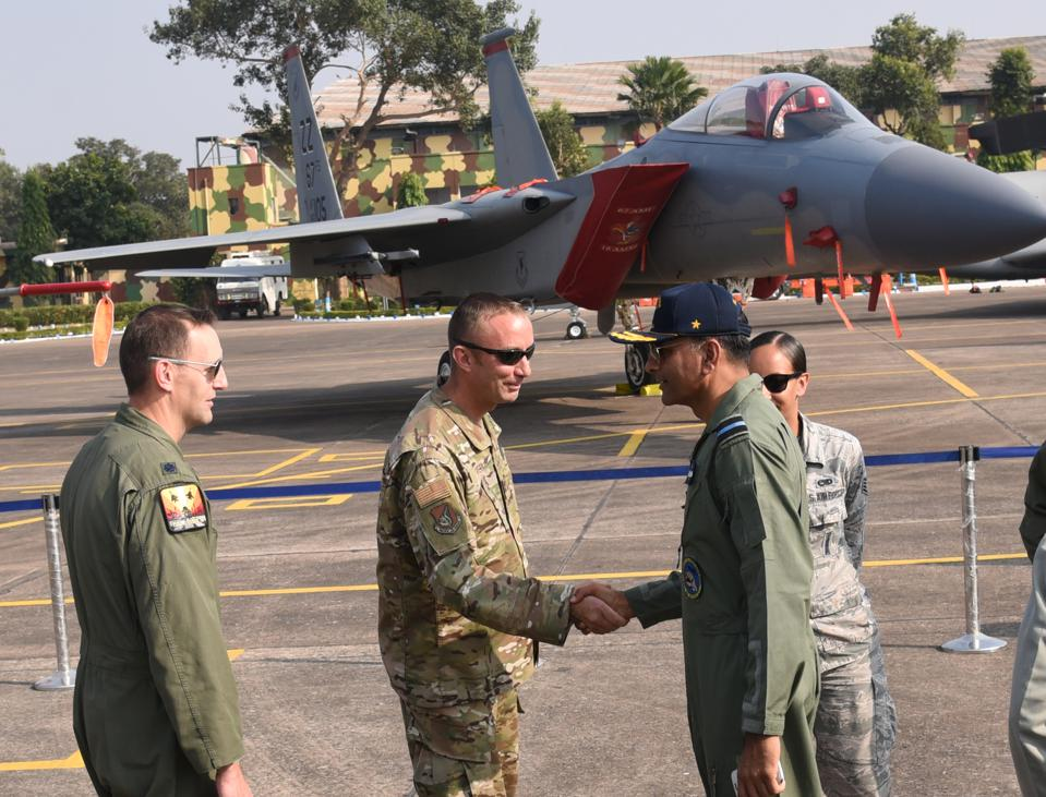 Indian US Air Force Bilateral Joint Exercise Cope India 2018