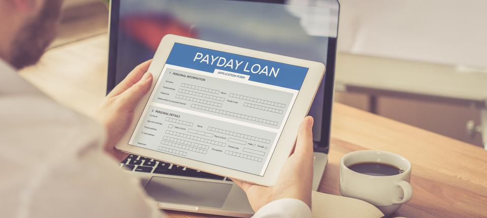 PAYDAY LOAN CONCEPT