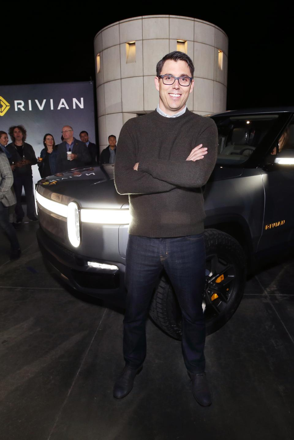 Rivian Unveils First-Ever Electric Pickup Truck Before Its Official Reveal At The LA Auto Show