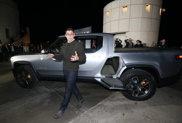 GM, Amazon Said To Be In Talks To Buy Into Electric Pickup Startup Rivian