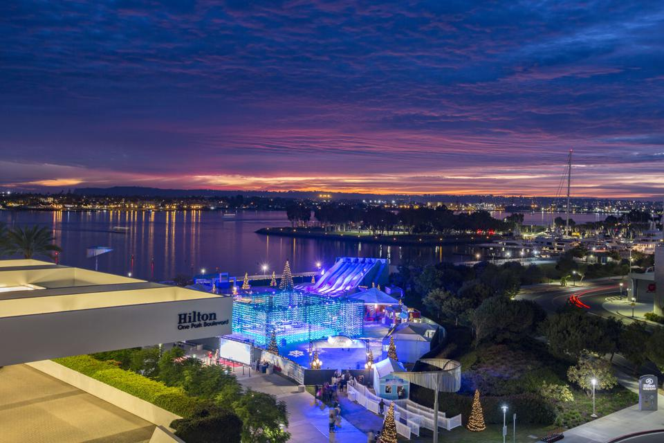 Hilton San Diego Bayfront's Holiday By The Bay Media And VIP Preview