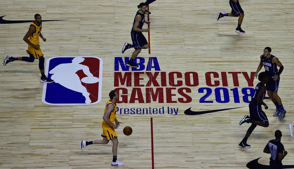 BASKET-MEXICO-NBA-ORLANDO-UTAH