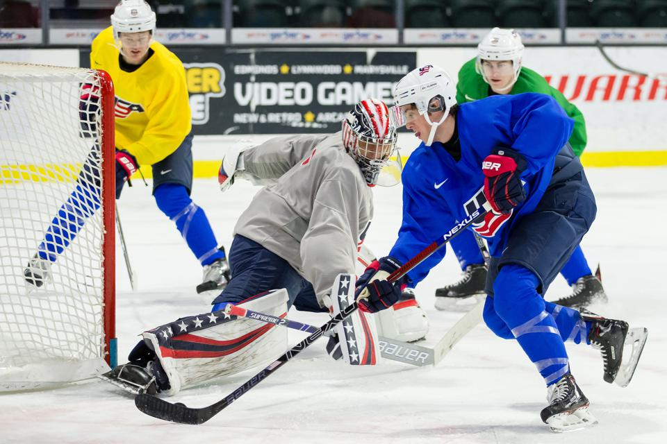 Hockey's Top Prospects Hit The Ice At This Week's 2019 World